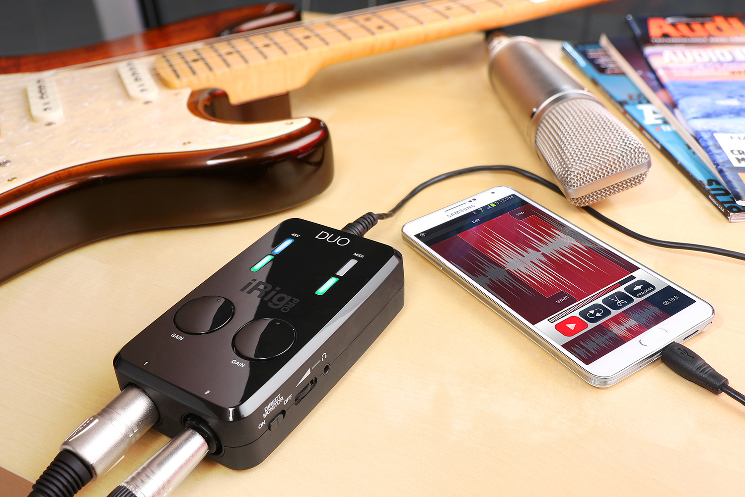 Ik Multimedia Irig Pro Duo Download Image Air Compressor Wiring Diagram Pc Android Iphone And