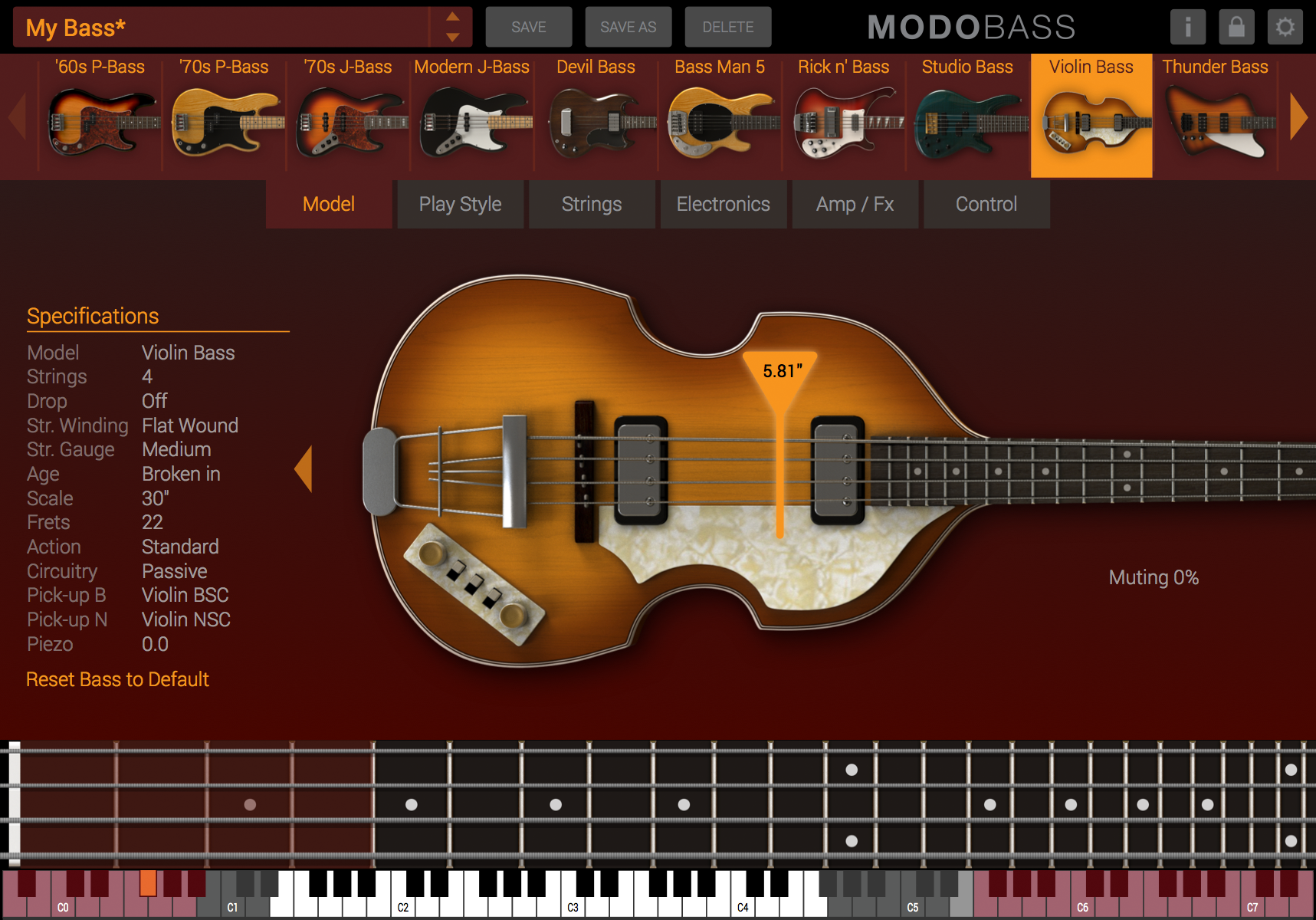 Ik Multimedia Modo Bass Hofner Violin Wiring Diagram