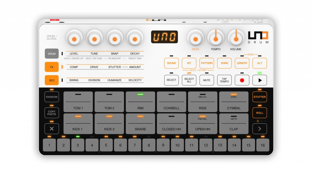 UNO Drum analog/PCM drum machine